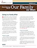 youth villages planned giving newsletter spring 2014